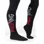 Piloxing sokken hoog zwart
