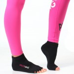 Piloxing sokken laag zwart