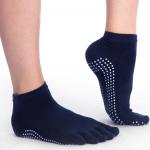 antislip sokken toes blauw