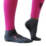 Piloxing sokken laag grijs